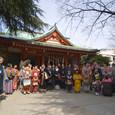 赤城神社にて全体写真